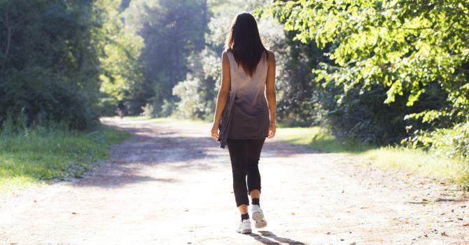 à pied
